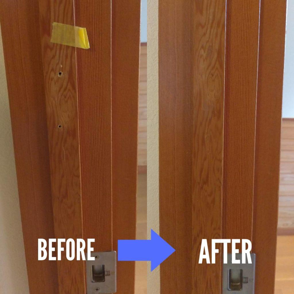 木製建具補修