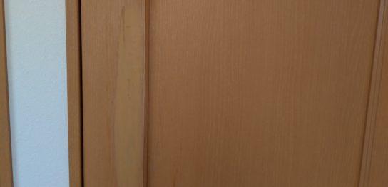 室内扉傷リペア補修/東京都葛飾区