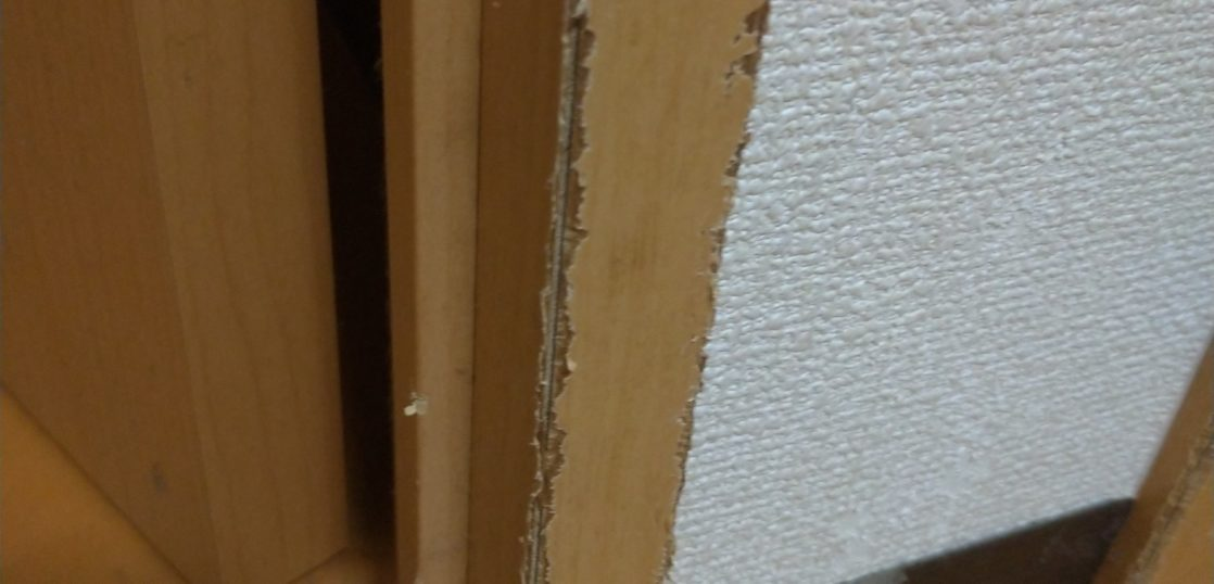 ペットによる木枠傷補修/東京都八王子市