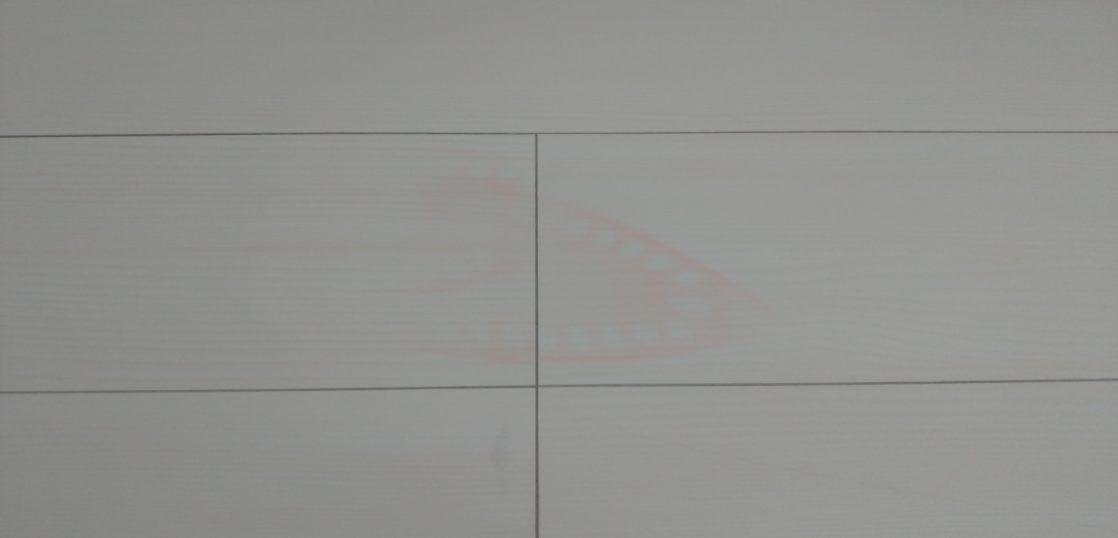 フローリングアイロン焦げ跡補修/神奈川県相模原市